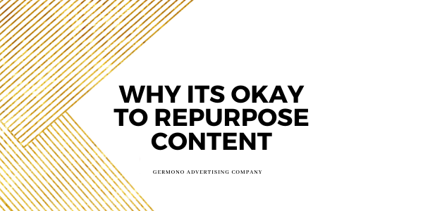 why its okay to repurpose content